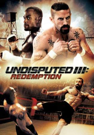 Undisputed 3 Redemption 2010 BRRip 720p English Movie 800Mb Watch Online Full Movie Download bolly4u