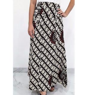 Model Rok Panjang Batik Klasik