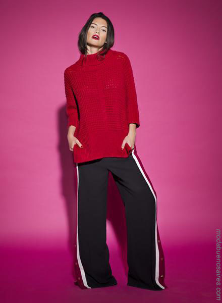 Ropa de moda para mujer otoño invierno 2018 pantalones de mujer.