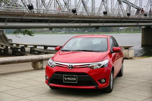 Toyota Vios 2014 giá bao nhiêu (Đầu xe)