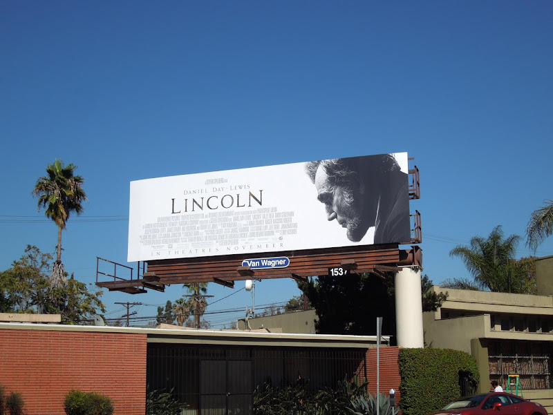 Daniel Day Lewis Lincoln billboard