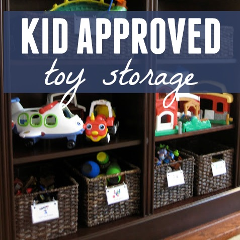 Toddler Approved Kid Approved Toy Storage