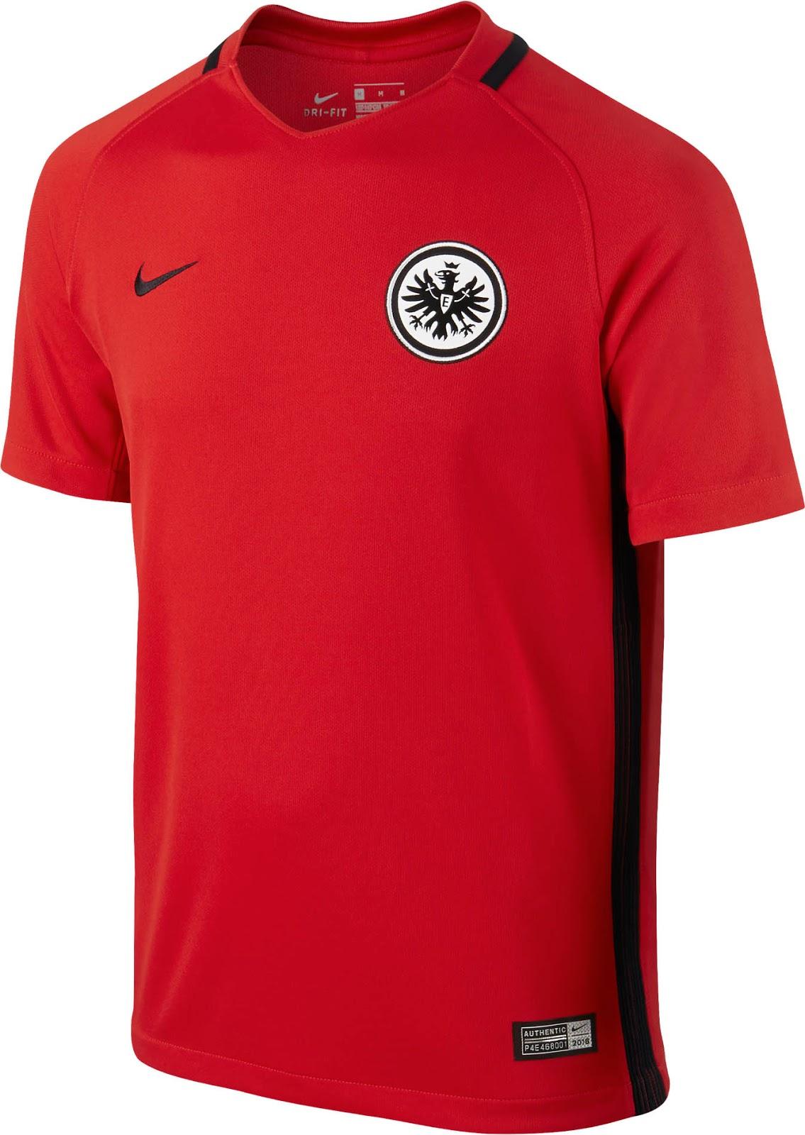 eintracht frankfurt jersey