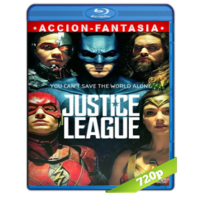 Liga De La Justicia (2017) BRRip 720p Audio Trial Latino-Castellano-Ingles 5.1