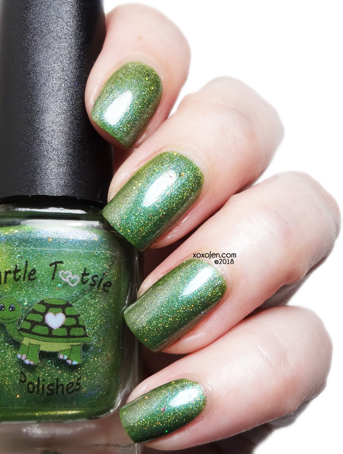 xoxoJen's swatch of Turtle Tootsie You Won't Like Me When I'm Angry