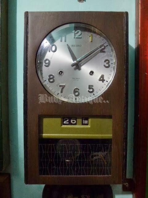 Mempunyai dua lubang kunci sehingga akan berdentang setiap setengah jam dan  setiap satu jam. Dimensi 25 79ac3df22c