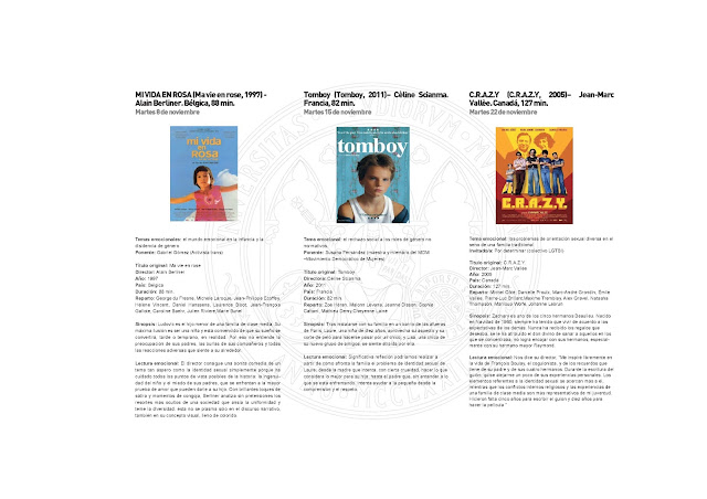 """Ciclo """"Cine y Emociones, la diversidad sexual y de género en la educación"""""""