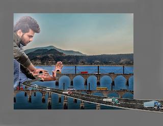 Bridge blocker / the gaint boy |Picsart swappy pawar Editing