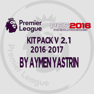 PES 2016 Premier League 2017 Kit-Pack V2.1