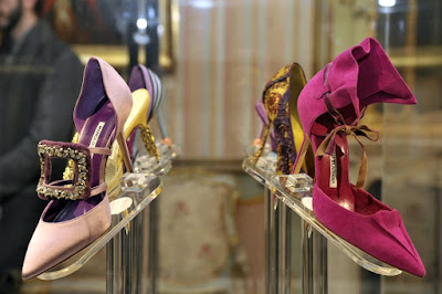 Manolo Blahnik en Madrid