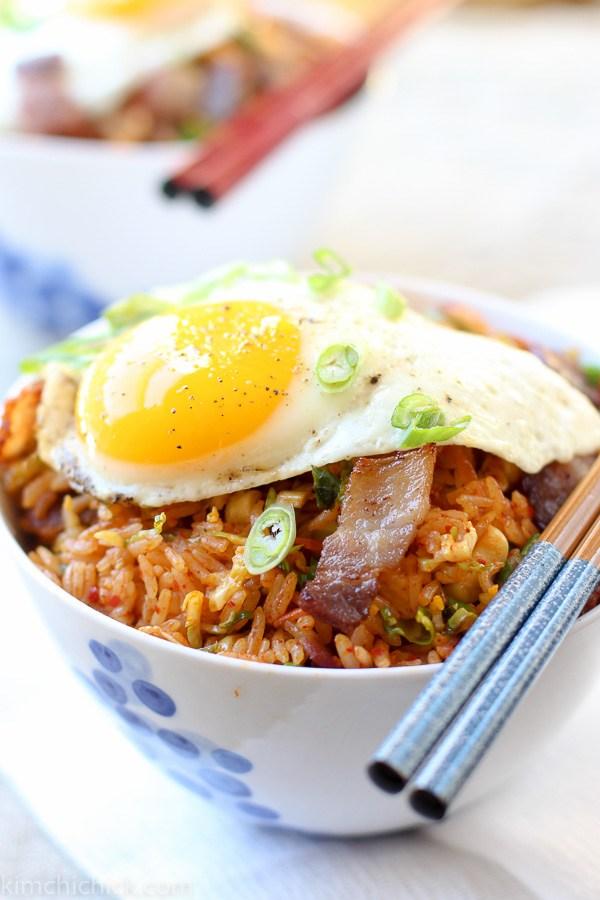 Resep nasi goreng kimchi korean food