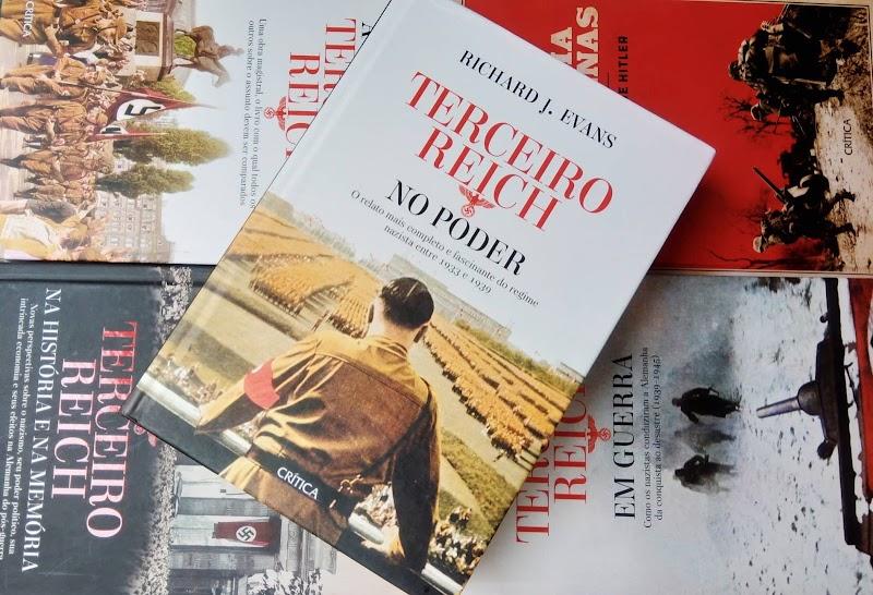 [RESENHA #585] O TERCEIRO REICH NO PODER - RICHARD J. EVANS