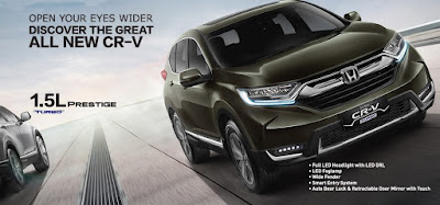 All New CRV Turbo