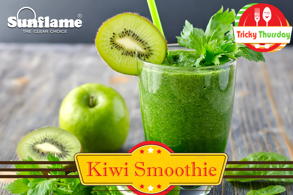 Recipes: Kiwi smoothie