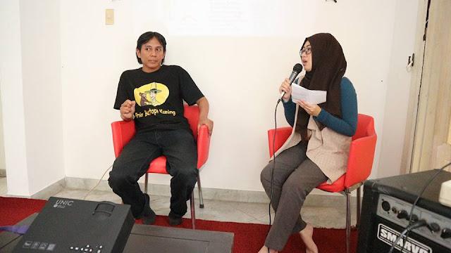 """Blogger Reporter dan Gogobli.com Gelar Pelatihan """"Dubbing & Voice Over"""" bersama Kak Agus Nurhasan"""