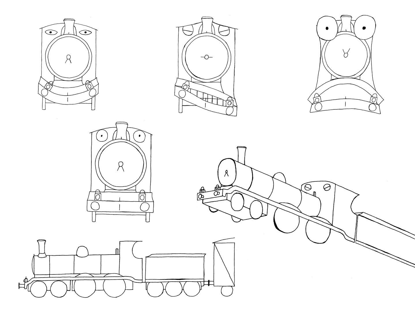 Dlncreative My Ghost Train Animation