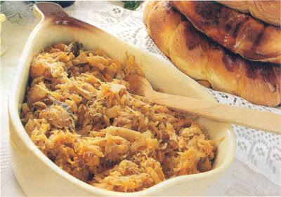 Reţetă culinară: varză cu carne de viţel