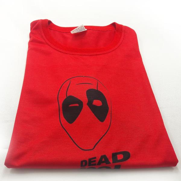 Camiseta%2BPersonzalida%2Bimpressa%2Bna%2Bcor%2BVermelha%2BDobrada - Camiseta personalizada é um presente criativo e original.