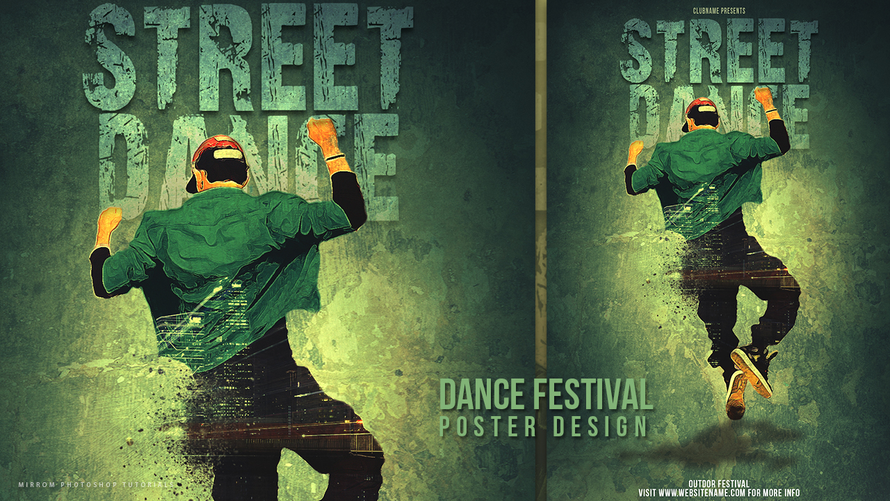 How To Create a Street Dance Festival Poster With Photoshop