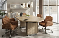 Zira Racetrack Boardroom Table