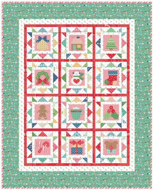 Bee In My Bonnet: Cozy Christmas Sew Along - Week One - Block One! : lori holt quilt patterns - Adamdwight.com