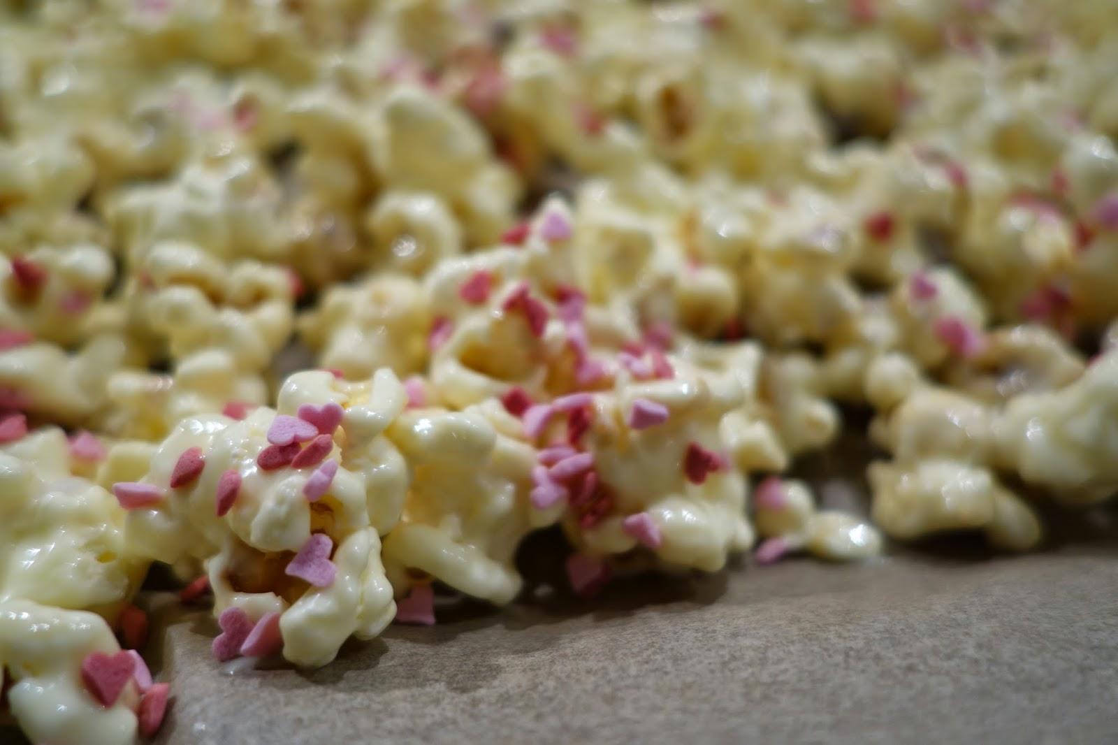 Valentines popcorn