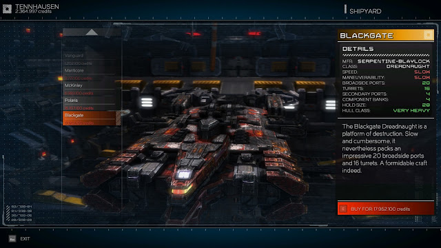 Rebel Galaxy Blackgate Tips