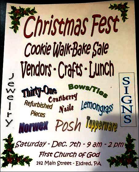 12-7 Christmas Fest, Eldred, PA