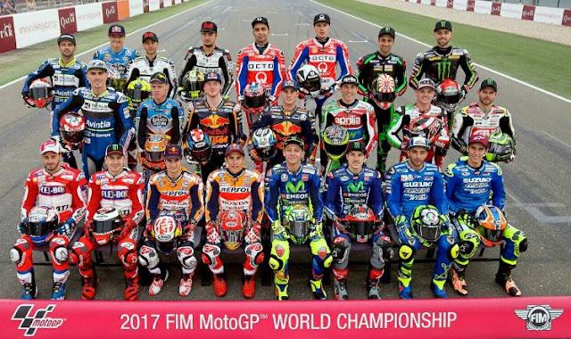 Klasemen MotoGP 2017 Terbaru Usai GP Australia