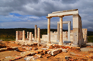 Ancient Temple of Goddess Demeter (Dimitra) - Naxos (2)