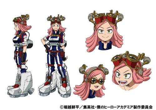 ฮัตสึเมะ เมย์ (Hatsume Mei) @ My Hero Academia: Boku no Hero Academia มายฮีโร่ อคาเดเมีย
