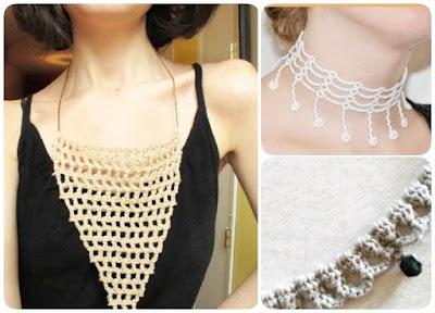 Como Inspirarse y hacer Collares de Crochet