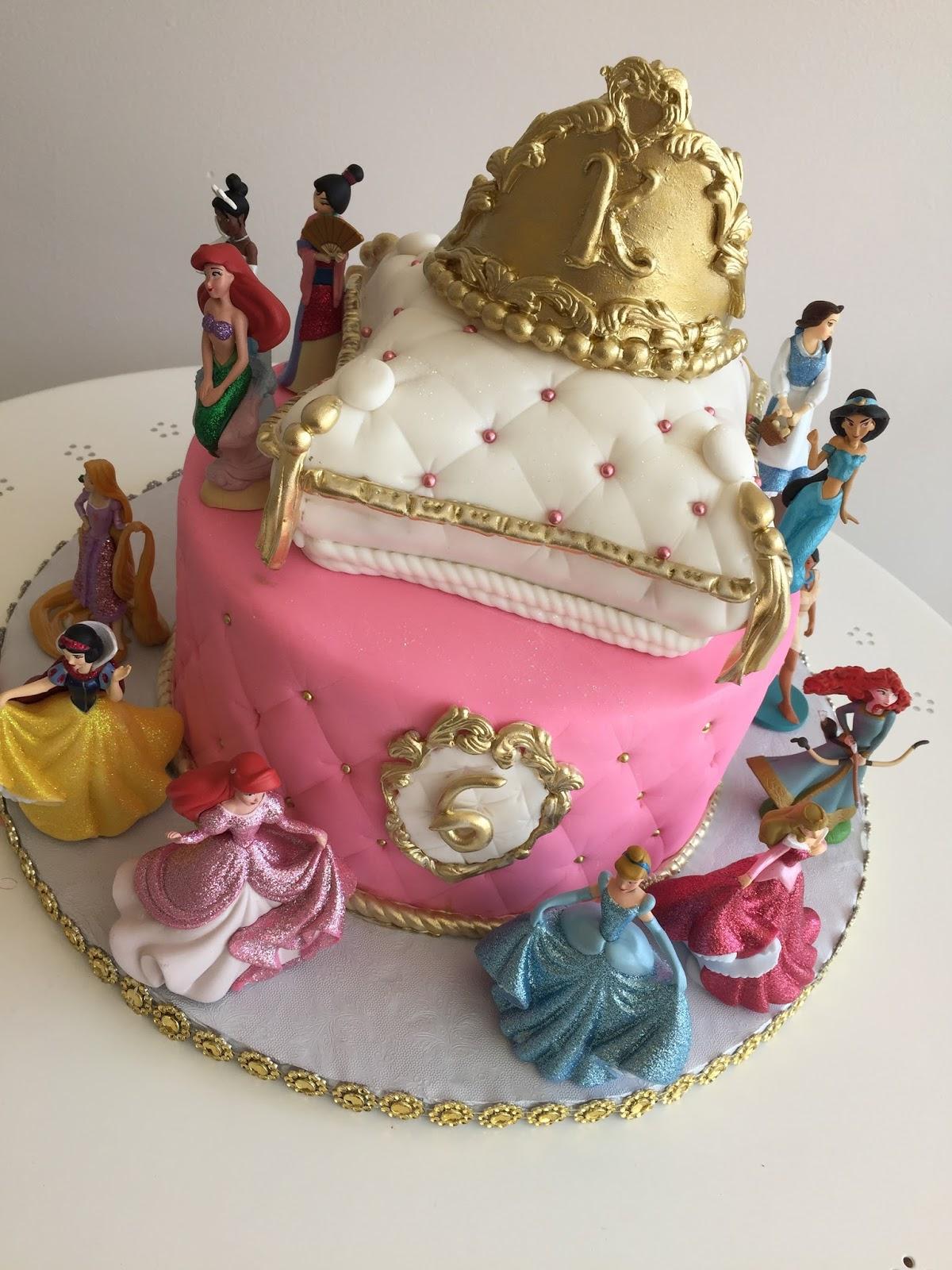 Tremendous Baking With Roxanas Cakes Princess Themed Birthday Cake Funny Birthday Cards Online Inifofree Goldxyz