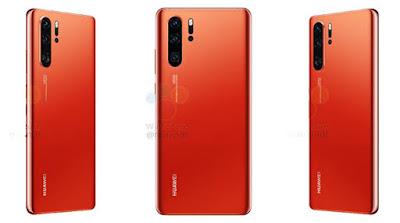 Huawei P30 Pro Phone Design