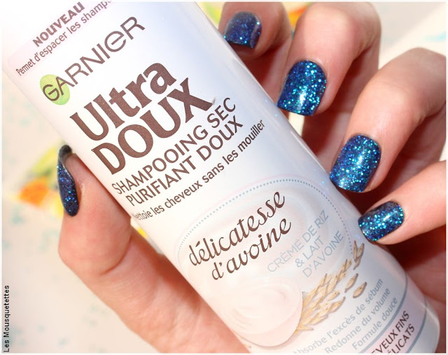 Shampoing sec Délicatesse d'avoine Ultra Doux Garnier - Favoris beauté du blog