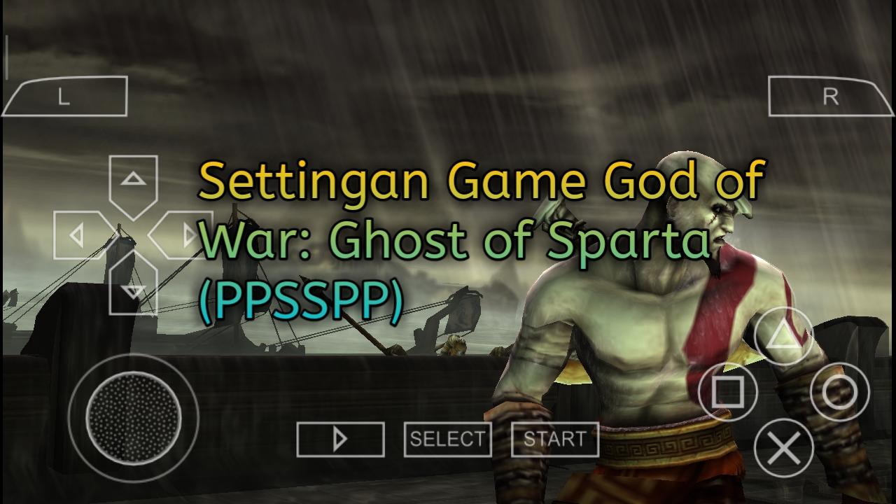 cara settingan god of war ppsspp android