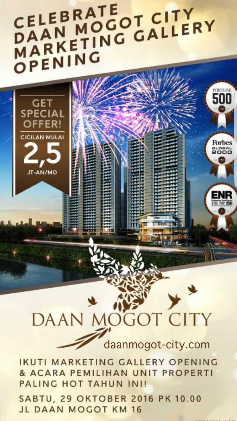Daan Mogot City Marketing Gallery Opening