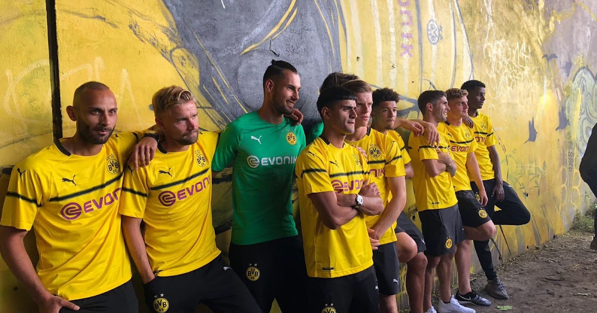 Dortmund 18 19 Champions League Cup Kit Released Footy