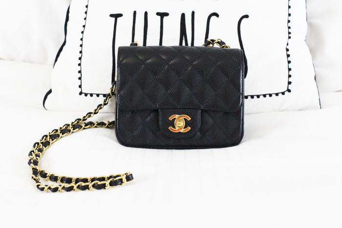3facdef4d11d Chanel mini review and what's in my bag - Chase Amie
