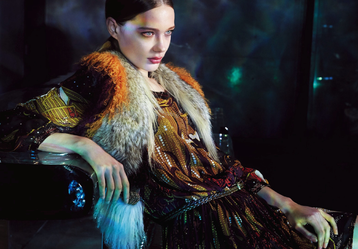 gucci: tanya katysheva and aneta pajak by akinori ito for spur february 2015