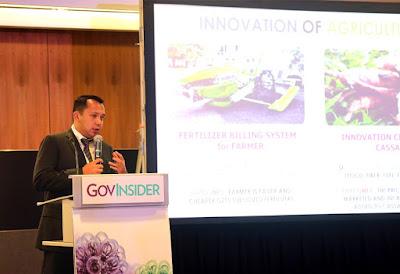 Di Singapura, Gubernur Ridho Paparkan Inovasi Pembangunan Berbasis IT