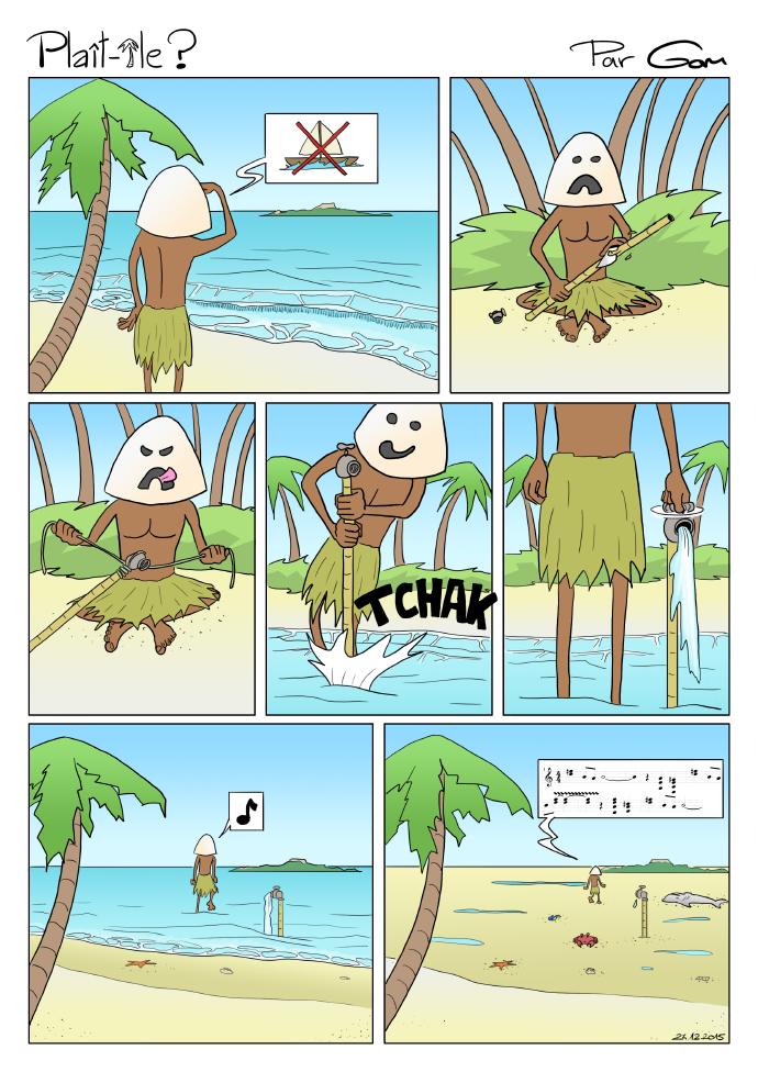 île, plage et mer