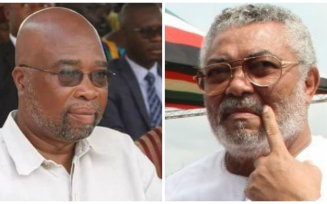 Henry Lartey and Jerry John Rawlings