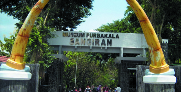 Ancient Museum Sangiran Central Java Magnificent of