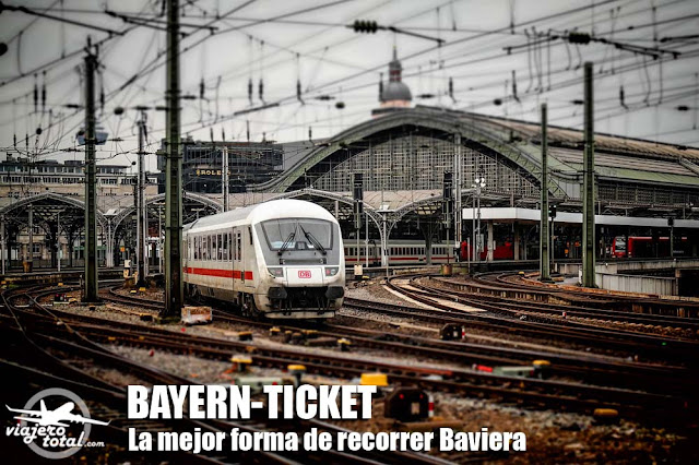 Bayern-Ticket - Alemania - Baviera - Munich - Tren