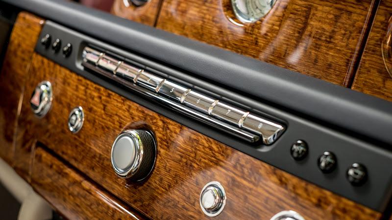Rolls-Royce Ghost interior design