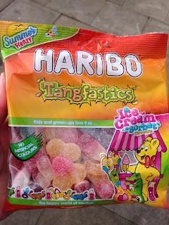 Haribo Tangfastics Ice Cream & Sorbet Flavours