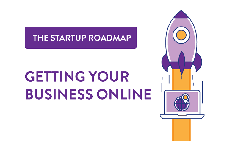 Here's a step-by-step guide to taking your business online - infographic