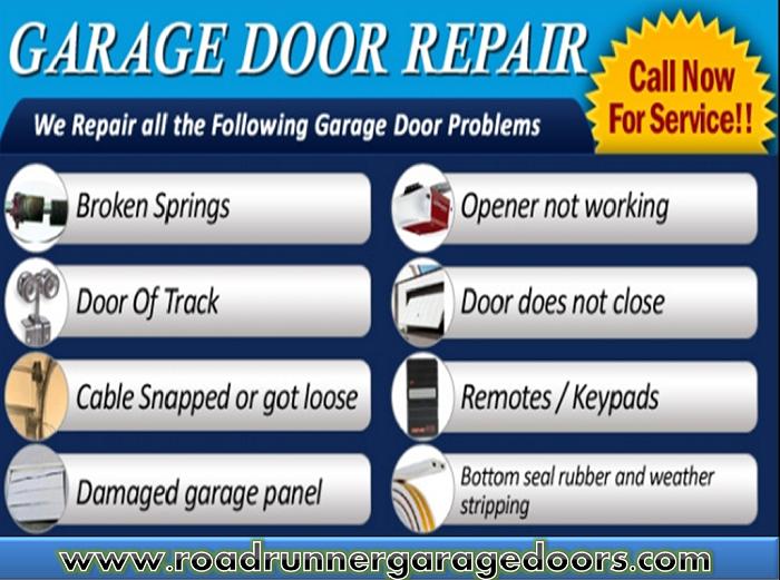 Road Runner Garage Doors