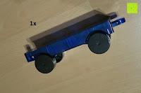 Auto: Playbees 100 Teile Magnetische Bausteine Set für 2D und 3D Form Konstruktionen, Regenbogenfarben Magnetspielzeug, Baukasten Magnetspiel, Magnetbausteine